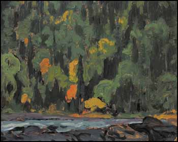 Algoma Hillside by James Edward Hervey (J.E.H.) MacDonald