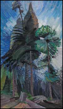 Wind in the Tree Tops by Emily Carr