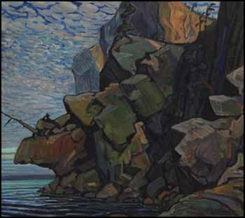 The Sheep's Nose, Bon Echo by Arthur Lismer