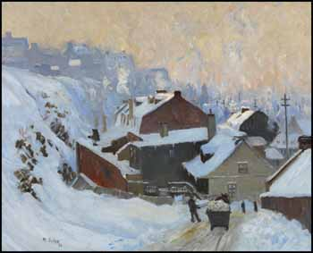 Lower Town, Quebec by Maurice Galbraith Cullen