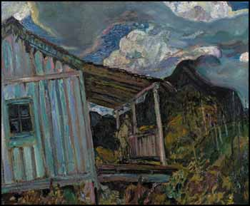 Forest Ranger's Cabin, Lynn Valley by Frederick Horsman Varley