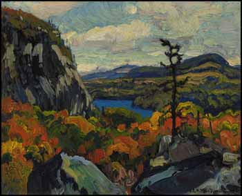 Early Autumn, Montreal River, Algoma by James Edward Hervey (J.E.H.) MacDonald