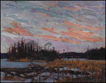 Canoe Lake by Thomas John (Tom) Thomson