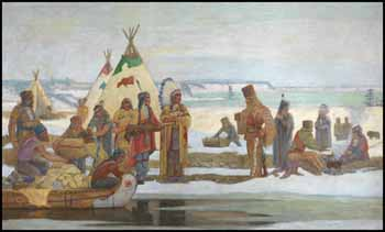 Indian Fur Traders by Robert Wakeham Pilot