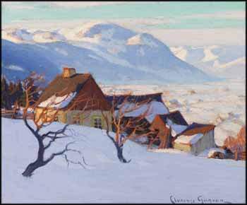 Paysage de Charlevoix by Clarence Alphonse Gagnon