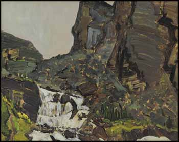 Mountain Stream by James Edward Hervey (J.E.H.) MacDonald