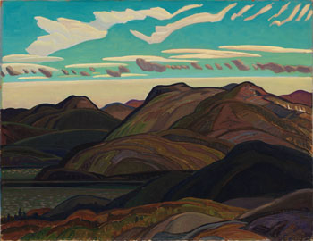 Late Evening by Franklin Carmichael