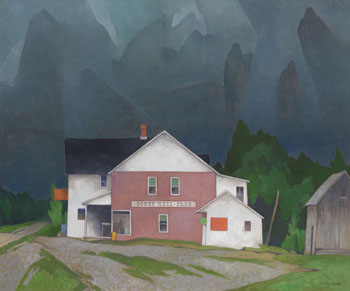 Gathering Storm by Alfred Joseph (A.J.) Casson