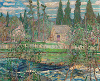 Spring on the Sackville River, NS by Arthur Lismer