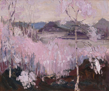 Sleet Storm by Thomas John (Tom) Thomson