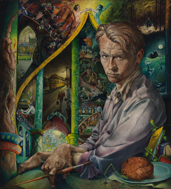 Portrait of the Artist as a Young Man by William Kurelek