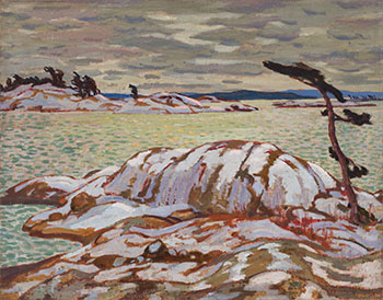 November, Georgian Bay by Alexander Young (A.Y.) Jackson