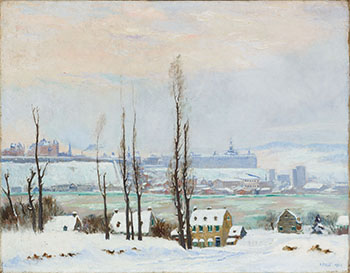 Quebec City from Lévis by Robert Wakeham Pilot