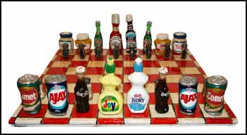 Chess Set by Patrick Amiot