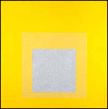 Study for Homage to the Square: Early Resonance by Josef Albers