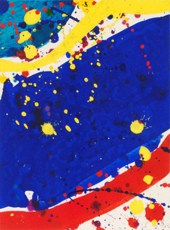 Pasadena Box by Sam Francis