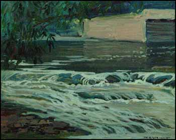 Abitibi Rapids by Mary Evelyn Wrinch