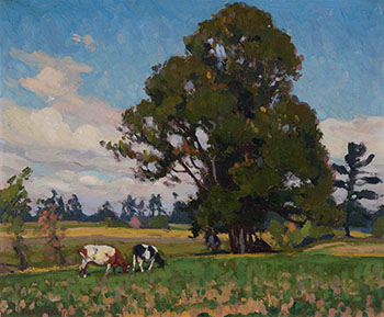 Cows in a Pasture by Frederick Stanley Haines