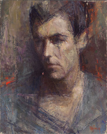 Young Man by Myfanwy Spencer Pavelic