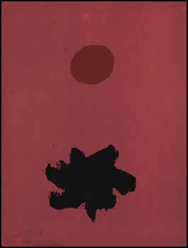 Rosy Mood by Adolph Gottlieb