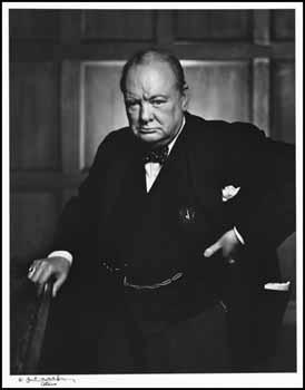 The Right Honourable Sir Winston Churchill by Yousuf Karsh