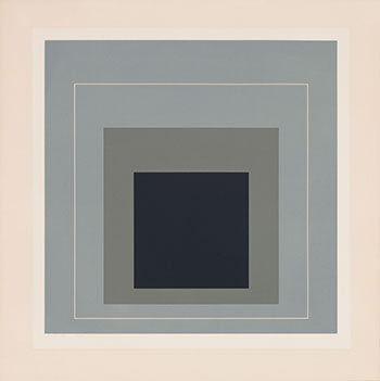 White Line Square IX by Josef Albers