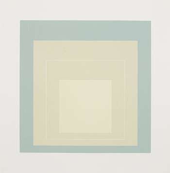 White Line Square VII by Josef Albers