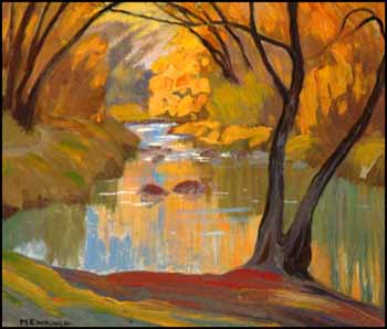 The Don Stream, York Mills by Mary Evelyn Wrinch