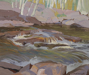 Temagami Stream by Mary Evelyn Wrinch