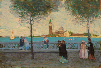 Late Afternoon, Venice by Clarence Alphonse Gagnon