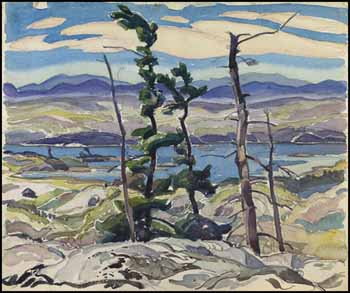 Franklin Carmichael Canadian Online Art Auction