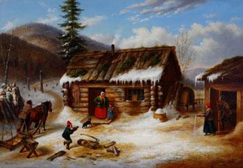 Cornelius David Krieghoff (Canadian) - Online art auction