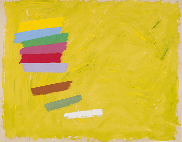 heffel jack bush composition cresendo spring auction